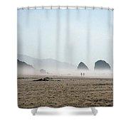 Misty Morning Photograph Shower Curtain