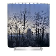 Misty Mornings  Shower Curtain