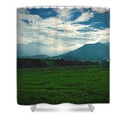 Misty Mountain Hop Shower Curtain