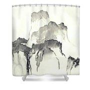 Misty Mountain Shower Curtain