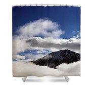 Misty Mountains Shower Curtain