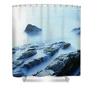 Misty Ocean Shower Curtain