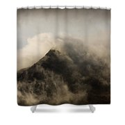 Misty Peak Shower Curtain