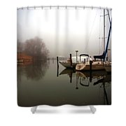 Misty Reflections Shower Curtain