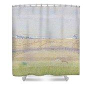 Misty Sea, Jan Toorop, 1899 Shower Curtain