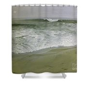 Misty Seas Shower Curtain