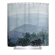 Misty Shenandoah Shower Curtain