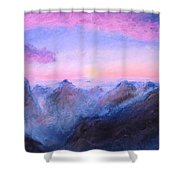 Misty Sight Shower Curtain