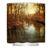 Misty Waters Shower Curtain