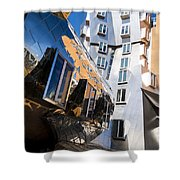 Mit Stata Center Cambridge Ma Kendall Square M.i.t. Reflection Shower Curtain