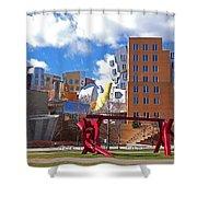Mit Stata Center Cambridge Ma Kendall Square M.i.t. Sculpture Shower Curtain