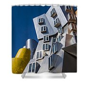 Mit Stata Center Cambridge Ma Kendall Square M.i.t. Shower Curtain