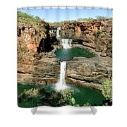 Mitchell Falls Cascades Shower Curtain