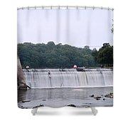 Mitchell Iowa Dam Shower Curtain