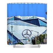 Mercedes Benz Stadium Shower Curtain