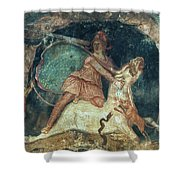 Mithras Killing The Bull - To License For Professional Use Visit Granger.com Shower Curtain