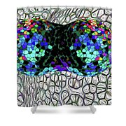 Mitosis Between Consenting Cells Shower Curtain