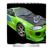 Mitsubishi Eclipse Shower Curtain