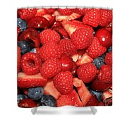 Mixed Berries Shower Curtain