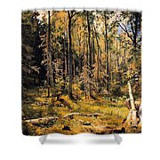 Mixed Forest Shower Curtain