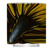 Mixed Sunflower Shower Curtain