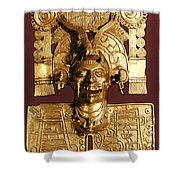 Mixtec: God Of The Dead Shower Curtain