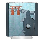 Miyajima Shower Curtain