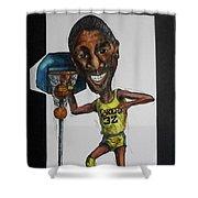 Mj Caricature Shower Curtain