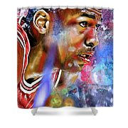 Mj Painted Shower Curtain