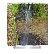 Mna Memorial Falls Shower Curtain