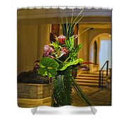 Moana Surfrider Tropical Elegance Shower Curtain