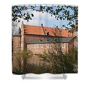 Moated Castle Herten II Shower Curtain