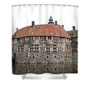 Moated Castle Vischering Shower Curtain