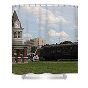 Moberly Depot Shower Curtain
