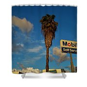 Mobil Self Serve Shower Curtain