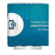 Mobile-app-development-mobiloitte Shower Curtain