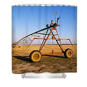 Mobile Irrigation Shower Curtain