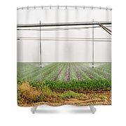Mobile Irrigation Robot  Shower Curtain