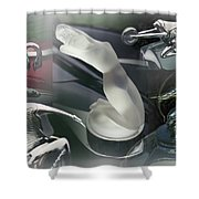 Mobile Mascots Shower Curtain