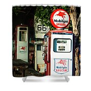 Mobilgas Special Shower Curtain