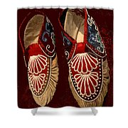 Moccasins Shower Curtain