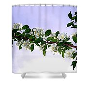 Mock Orange Shower Curtain