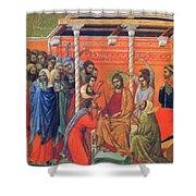 Mockery Of Christ 1311 Shower Curtain