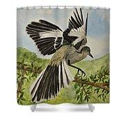 Mockingbird Landing Shower Curtain