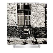 Mode Of Transport In Bruges Shower Curtain