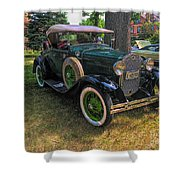 1928 Model A Ford  Shower Curtain
