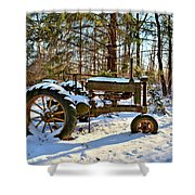 Model A Deere 2 Shower Curtain