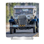 Model A Touring Club Shower Curtain