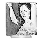Model Shanna Shower Curtain