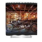 Model T Ford Shower Curtain